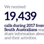 Crime Stoppers SA results show that making a call can make a real difference