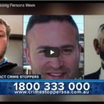 National Missing Persons Week segment